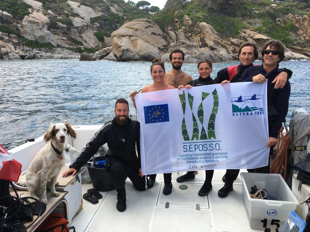 Life SEPOSSO at Giglio Island (Tuscany), Costa Concordia shipwreck monitoring