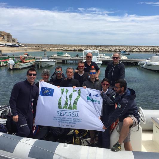 Life SEPOSSO monitoring: surveys on Posidonia transplants in Sicily and in Priolo Gargallo (SR)