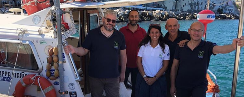 Activity Life SEPOSSO 2019: monitoring and surveys on the transplant in Ischia (NA)