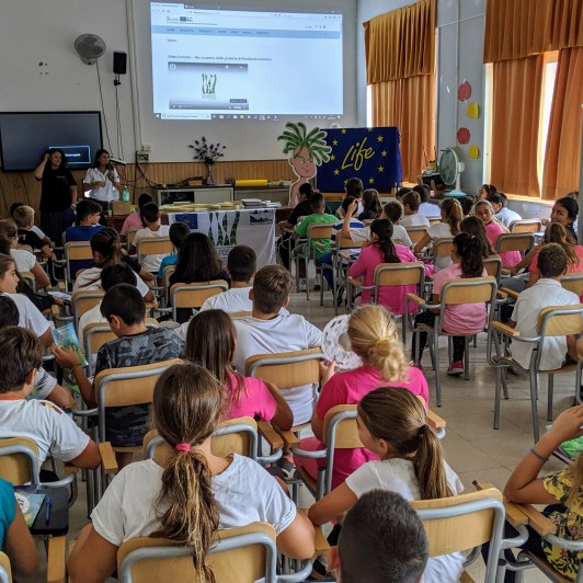 """Life SEPOSSO with the students of """"G. Scotti"""" school in Ischia (NA)"""